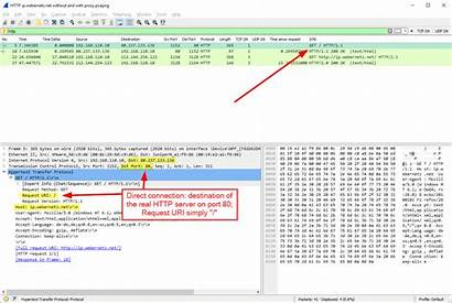 Packets Wireshark Connection Direct Glance Proxy Normal