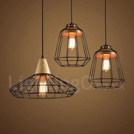 large kitchen pendant lights country dining room metal wooden pendant light for living 6803
