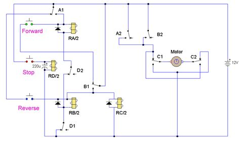 Motor Reversing Circuit