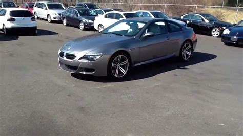 2008 Bmw M6 For Sale by Reviewed Space Grey 2008 Bmw M6 V10 Coupe For Sale In