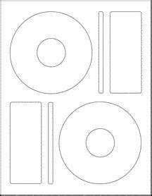 memorex cd labels template  word