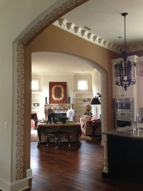 a creative way to transition paint colors from one space to another especially when walls