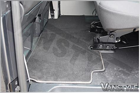 vw   rear carpet mat single sliding door bench seat