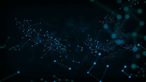 abstract dark background dot circle stock footage video