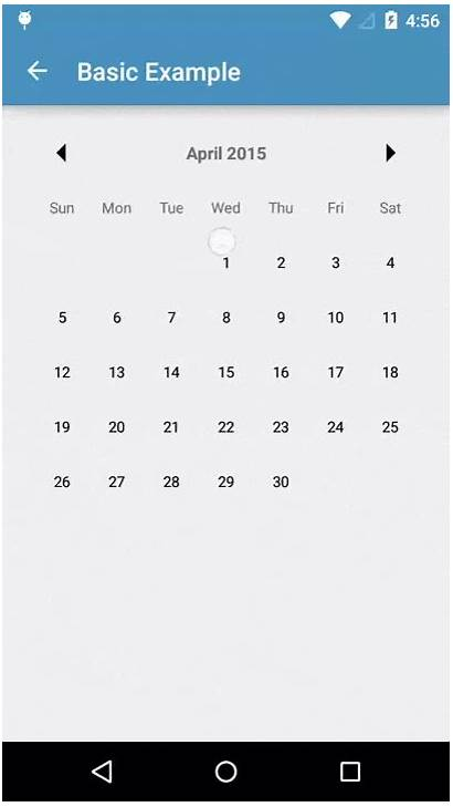 Calendar Android Want Dialog Datepicker Timepicker Digital