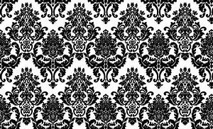 Fancy Black Wallpaper