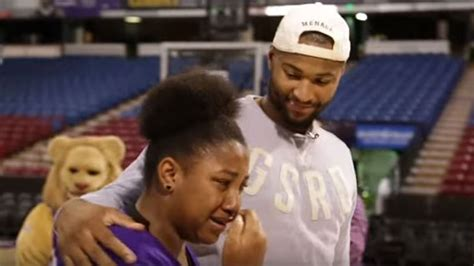 DeMarcus Cousins Surprises Family With New Car, Brings ...
