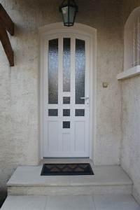 Porte D Entrée Blanche : porte d 39 entr e en pvc finstral classic alu vigouroux ~ Melissatoandfro.com Idées de Décoration