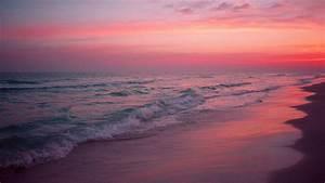 Pink Beach 14 Wallpaper Background Hd | fabulous ...