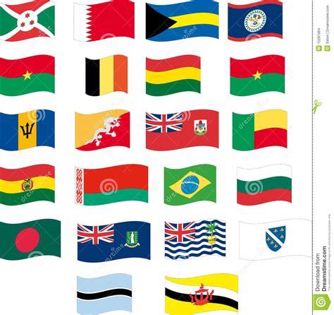 flag set part 2 12 letter b stock images image 15281964