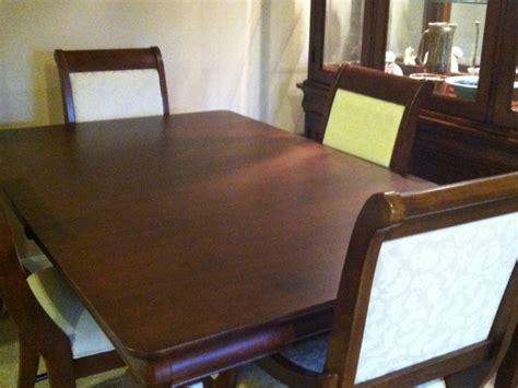 for sale solid maple formal dining room set 6
