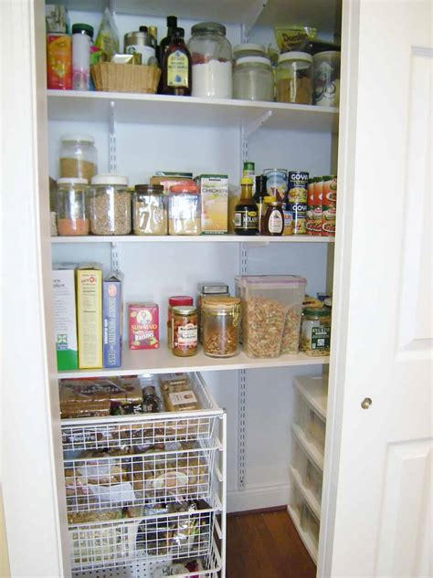 Closet Pantry Convert A Closet To A Pantry Heartwork Organizing Tips