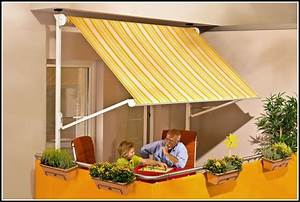 klemm markise balkon montage balkon hause dekoration With markise balkon mit tapeten schlafzimmer obi