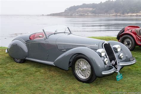 1938 Alfa Romeo 8c 2900b Lungo Spyder Gallery Gallery
