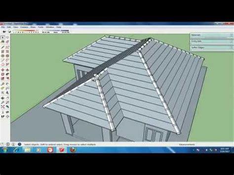 Ing Detail Atap Sketchup Roofing