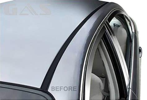 acura chrome roof molding trim chrome accessories