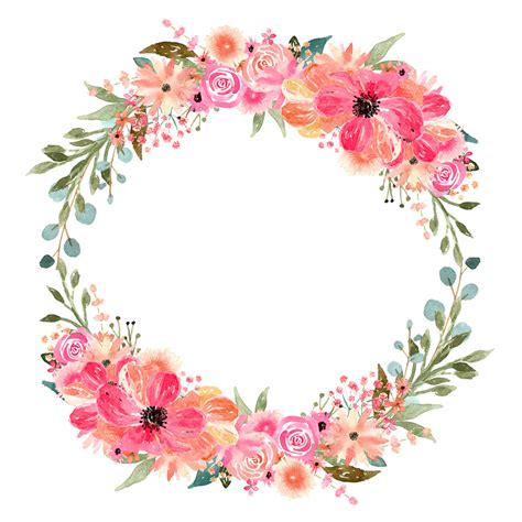 Watercolor Florals for Graphic Design | Every Tuesday