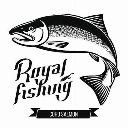 Salmon Vector Illustrations Coho Fish Clip Sockeye
