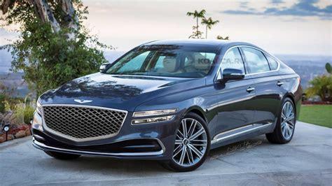 2020 Genesis G80 Rendering Looks Like a Mercedes Nemesis ...