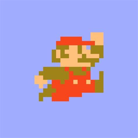 8 Bit Super Mario Stickers By Nintendo Co Ltd