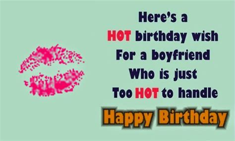birthday status  boyfriend romantic messages