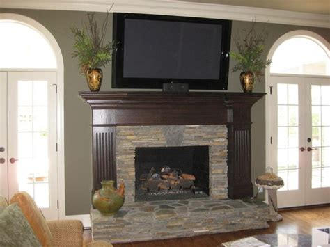 fireplace mantels this fireplace wall makes an even bigger statement