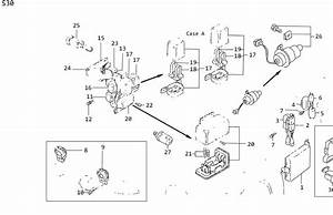 Nissan Maxima Link Fusible  Room  Engine  Wiring