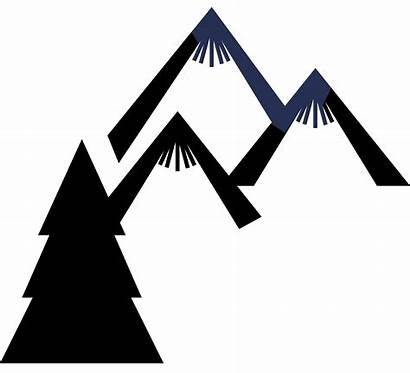 Clipart Mountains Berge Tree Triangle Transparent Mountain