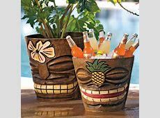 Tiki Flower Pots Ice Buckets The Green Head