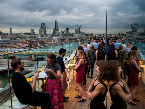 roof top bars  london yahire