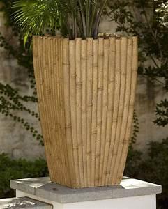 Indoor, Outdoor, Bamboo, Planter, Bamboo, Indooroutdoor