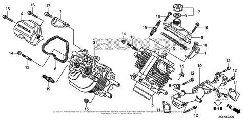 Honda Engines Gxrh Qxf Engine Chn Vin Gcamh