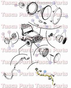 New Oem Headlight Wiring Harness 2009