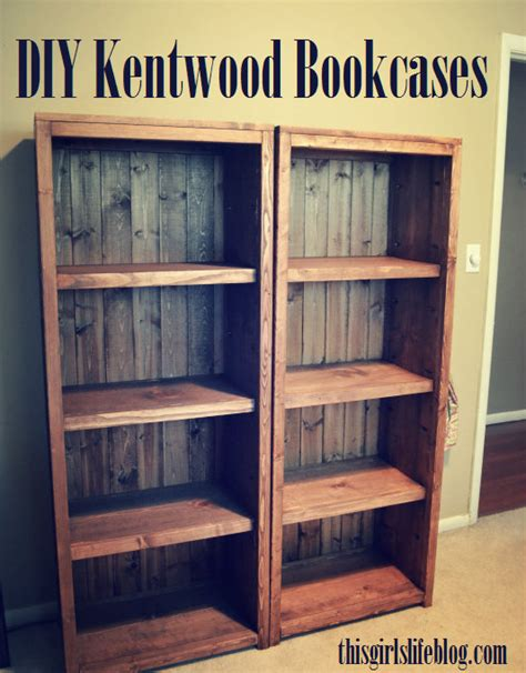 diy bookcase plans woodworking diy kentwood bookcases