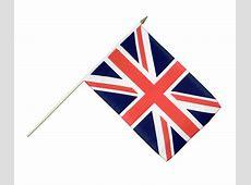 Great Britain Hand Waving Flag 12x18