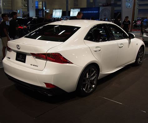 2018 lexus is release date specs price changes