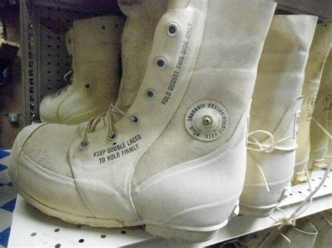 military bunny boots  degrees  miner brand
