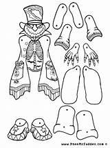 Puppets Puppet Pheemcfaddell Hampelmann Kinder хэллоуин sketch template