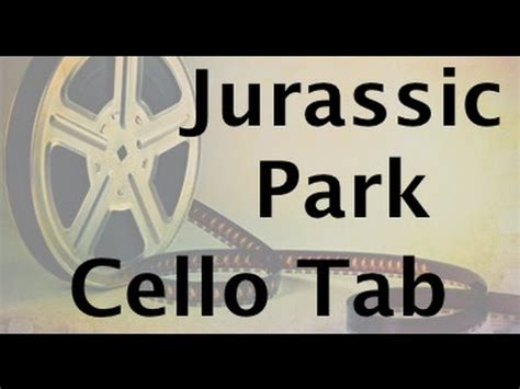 Learn Jurassic Park On Cello  How To Play Tutorial Youtube