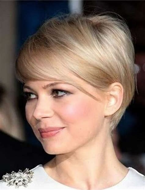 short haircuts for round face thin hair ideas for 2018