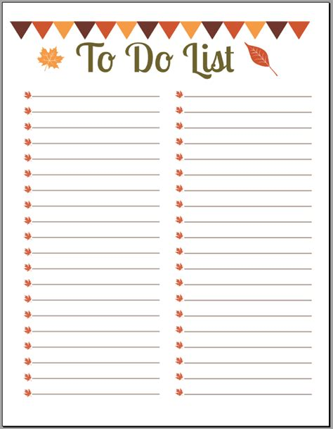 to do template 10 printable to do list templates excel templates