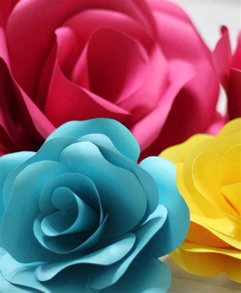 Molde para Rosa de Papel (15cm 20cm 25cm)