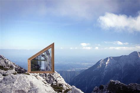 alpine shelter skuta architect magazine