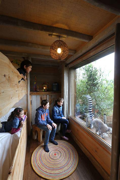 Lodge Zoo La Fleche 848 by Safari Lodges Du Zoo De La Fl 232 Che Dormir Au Milieu Des