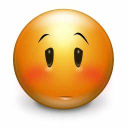 Embarrassed Emoticon - ClipArt Best