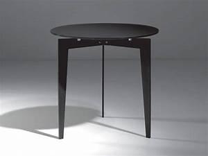 Table Basse En Acier : table basse rond en acier et verre nordic ~ Melissatoandfro.com Idées de Décoration