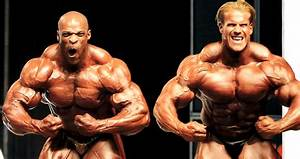 Vintage Footage Of Ronnie Coleman Beefing With Jay Cutler At The Olympia