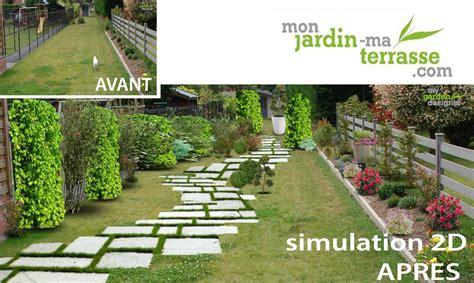 Amenager Un Jardin by Comment Am 233 Nager Jardin En Longueur Monjardin