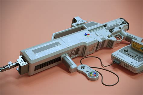 nintendo light gun nintendo famicom light gun concept hiconsumption