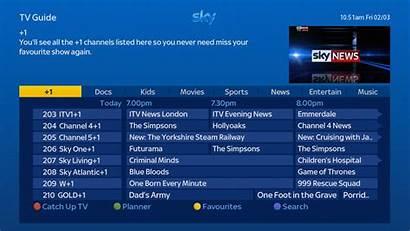 Sky Tv Guide Channel Menu Box Change
